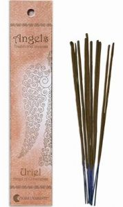 Angels Incense: Uriel - Angel of Conscience - Traditional Incense Sticks by Fiore D'Oriente